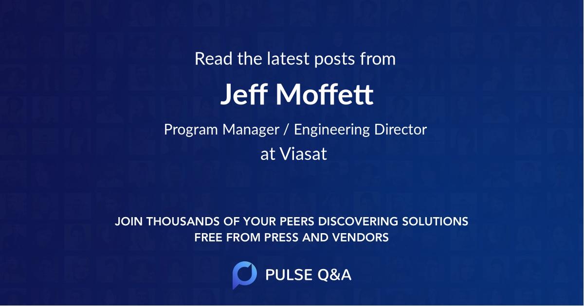 Jeff Moffett