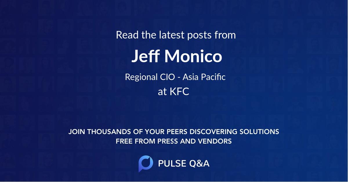 Jeff Monico