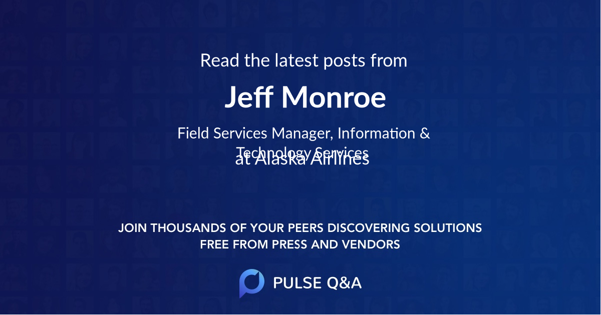 Jeff Monroe