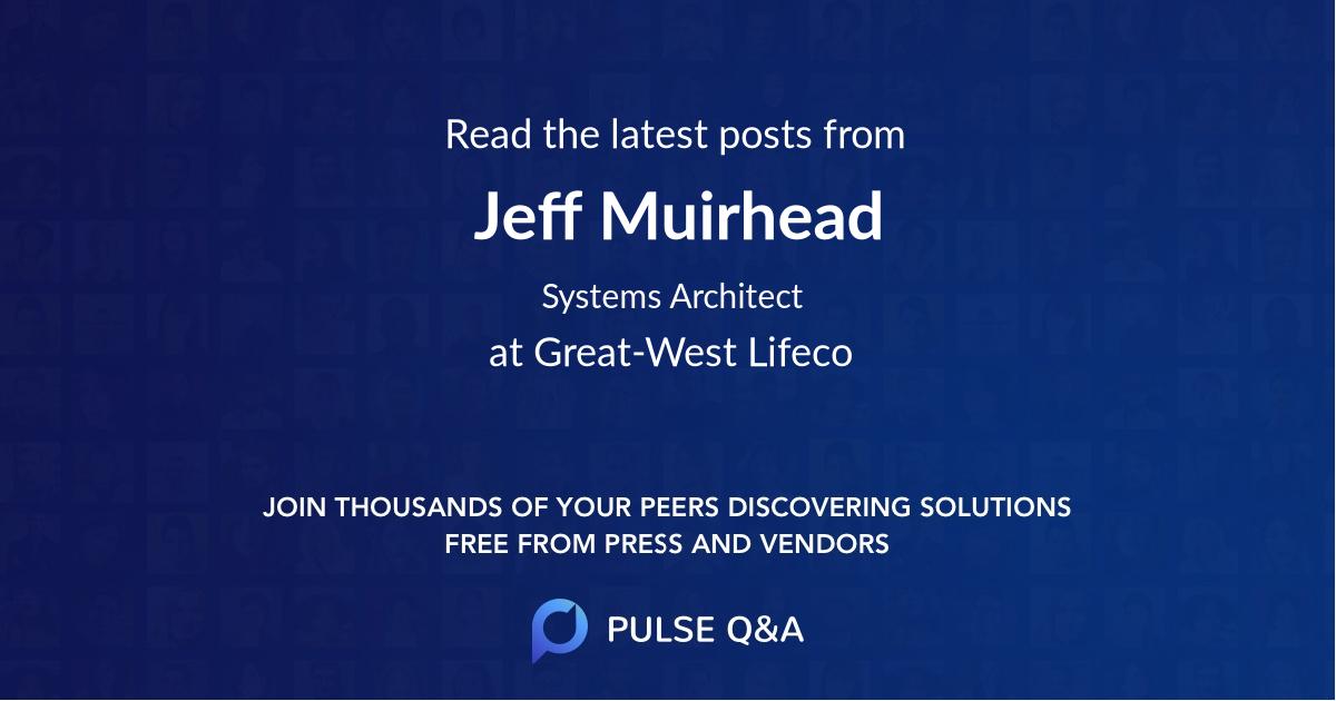 Jeff Muirhead