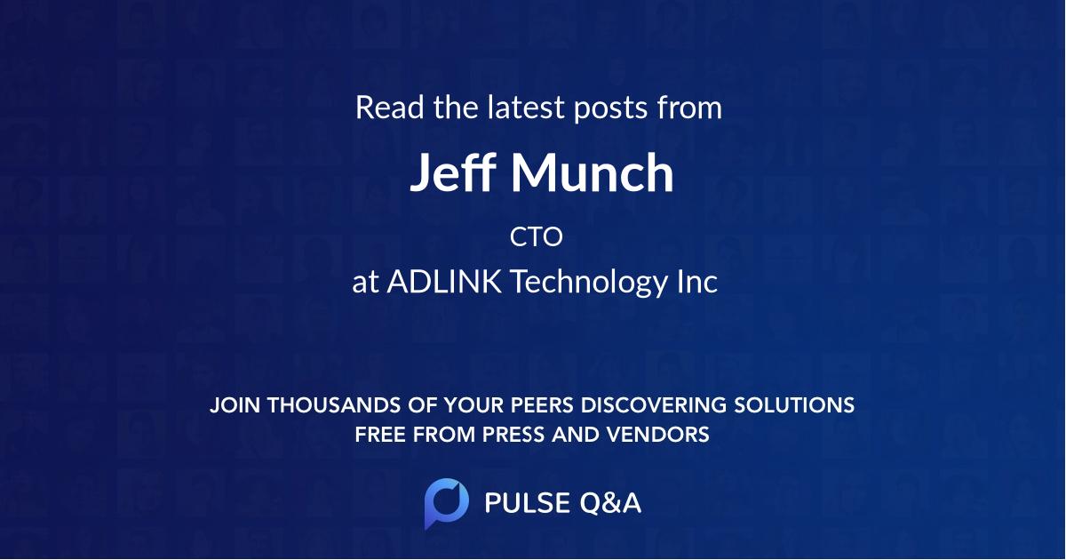 Jeff Munch