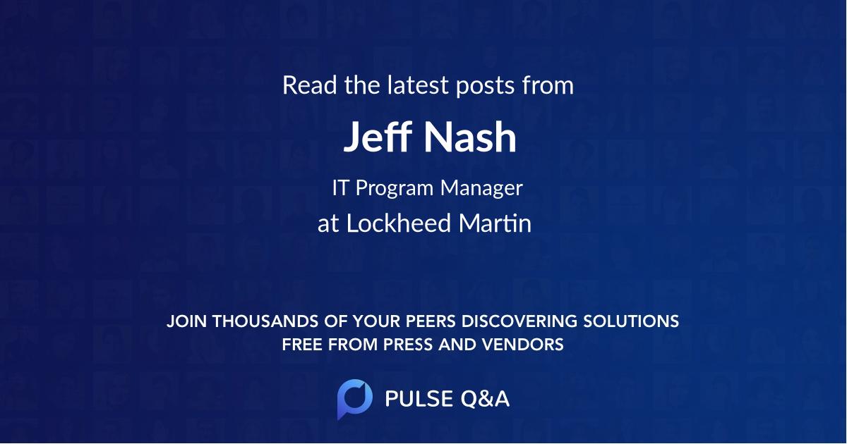 Jeff Nash