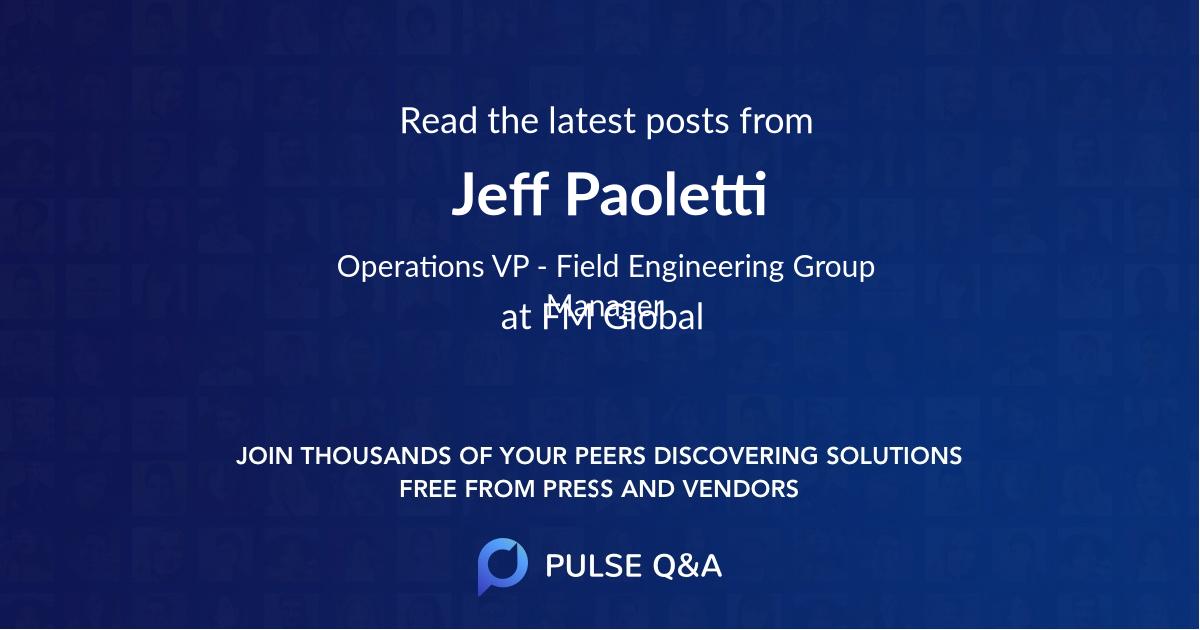 Jeff Paoletti