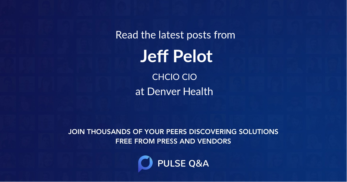 Jeff Pelot
