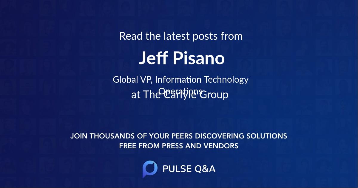Jeff Pisano