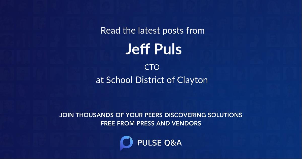 Jeff Puls