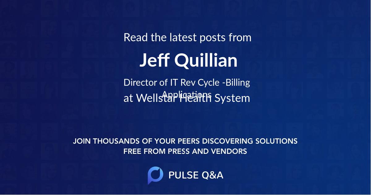 Jeff Quillian