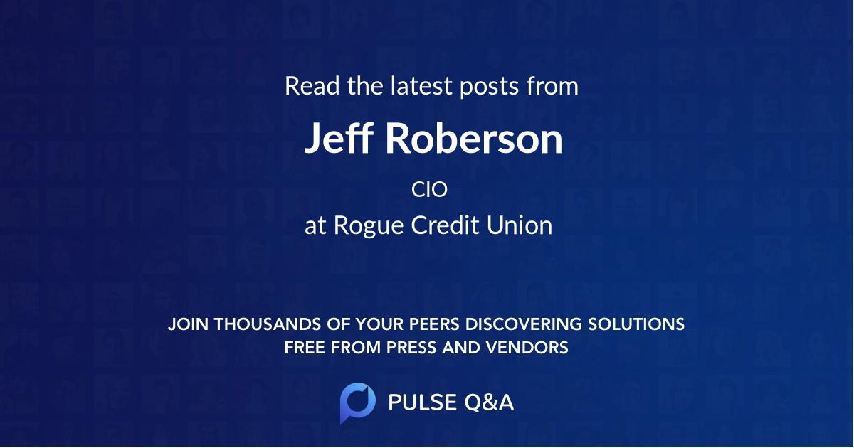 Jeff Roberson