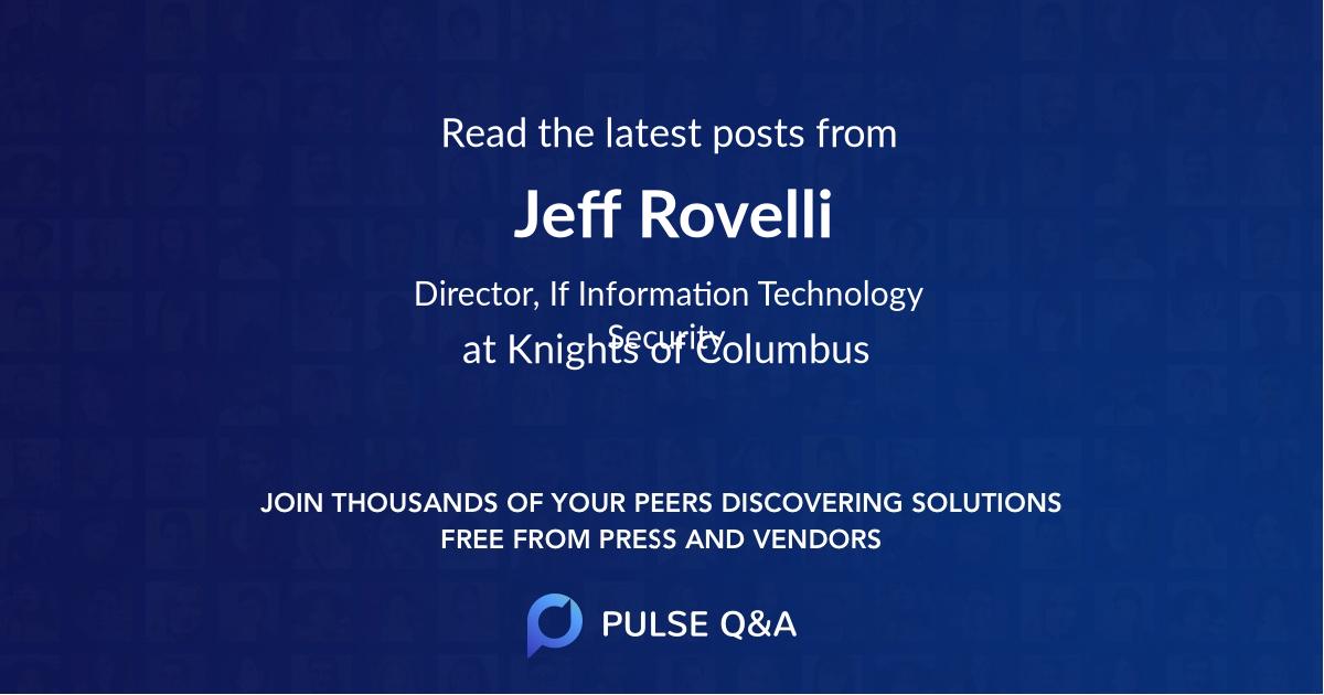 Jeff Rovelli
