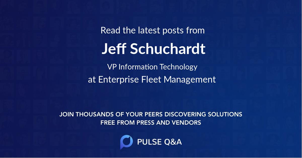 Jeff Schuchardt