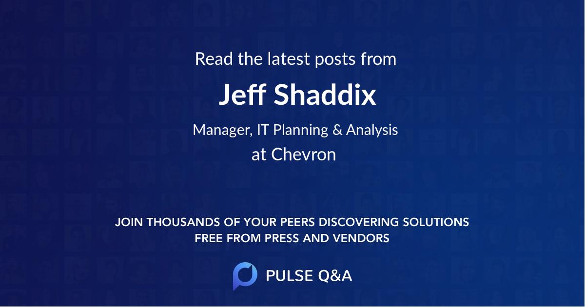 Jeff Shaddix