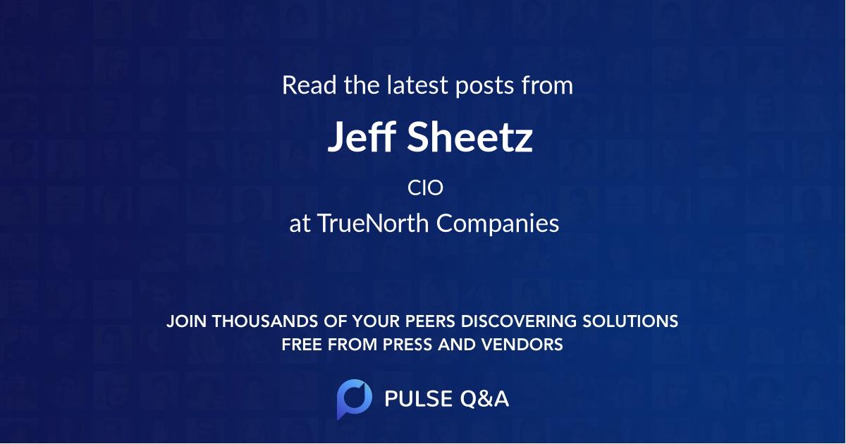Jeff Sheetz