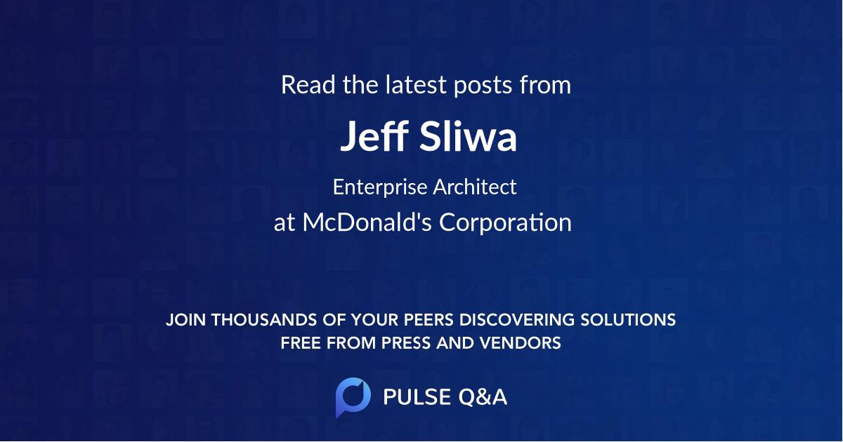 Jeff Sliwa