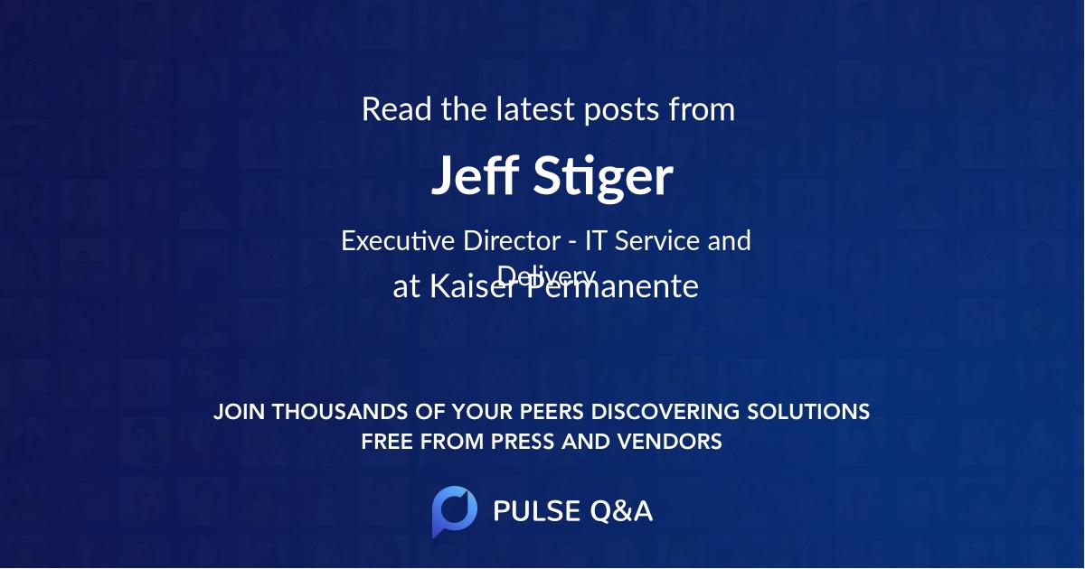 Jeff Stiger