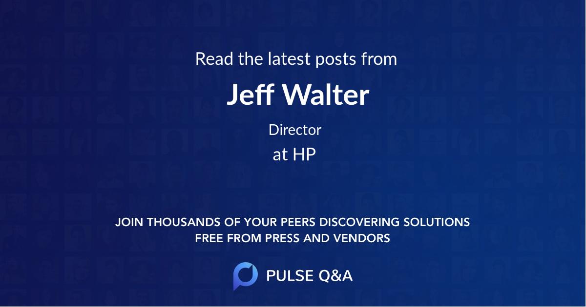 Jeff Walter