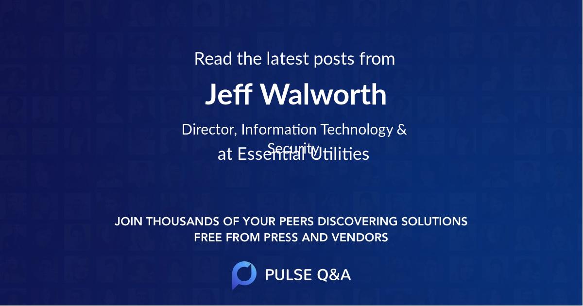 Jeff Walworth