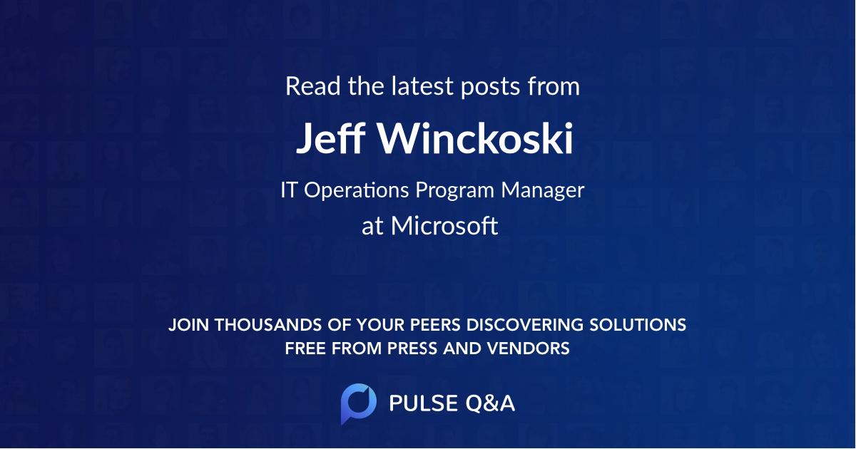 Jeff Winckoski