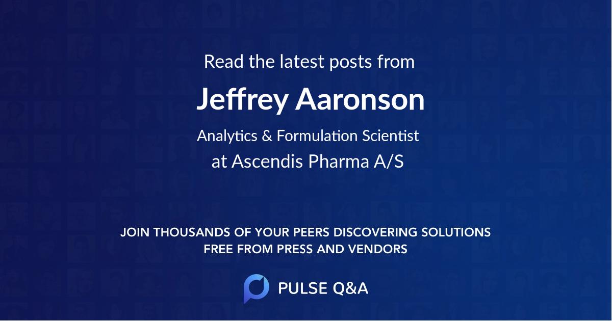 Jeffrey Aaronson