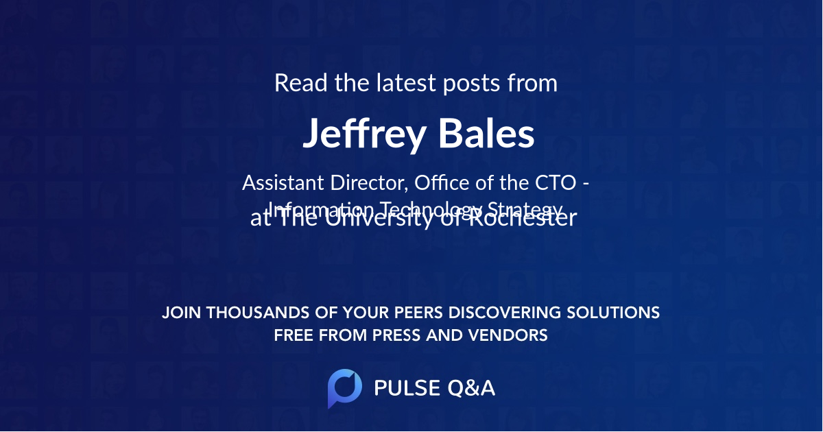 Jeffrey Bales