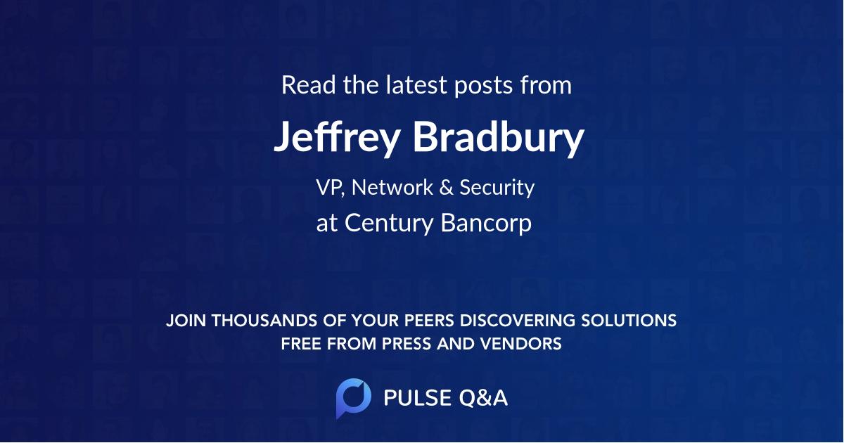 Jeffrey Bradbury