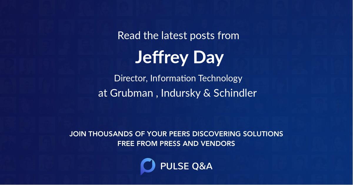 Jeffrey Day