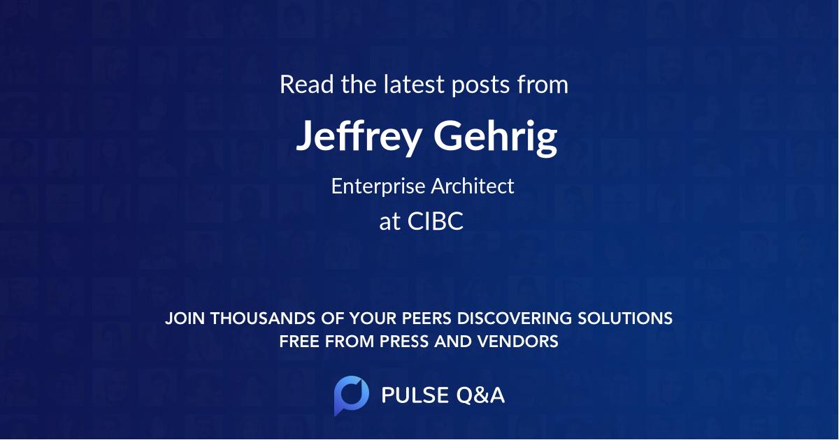 Jeffrey Gehrig