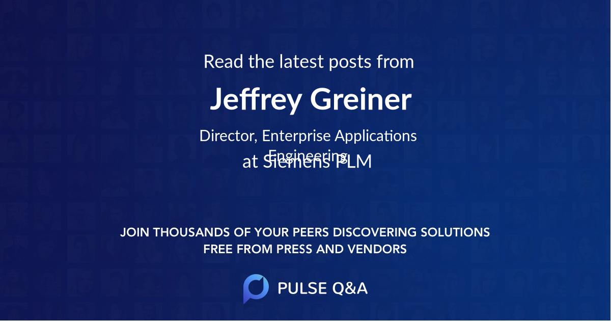 Jeffrey Greiner