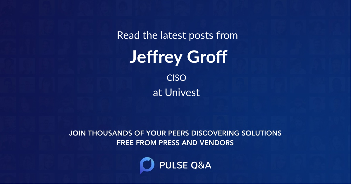 Jeffrey Groff