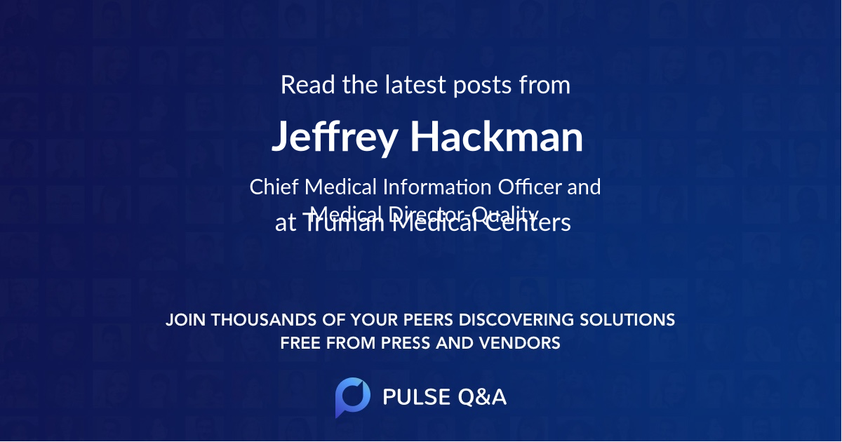 Jeffrey Hackman