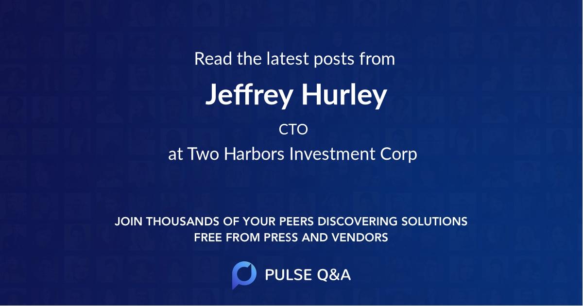 Jeffrey Hurley
