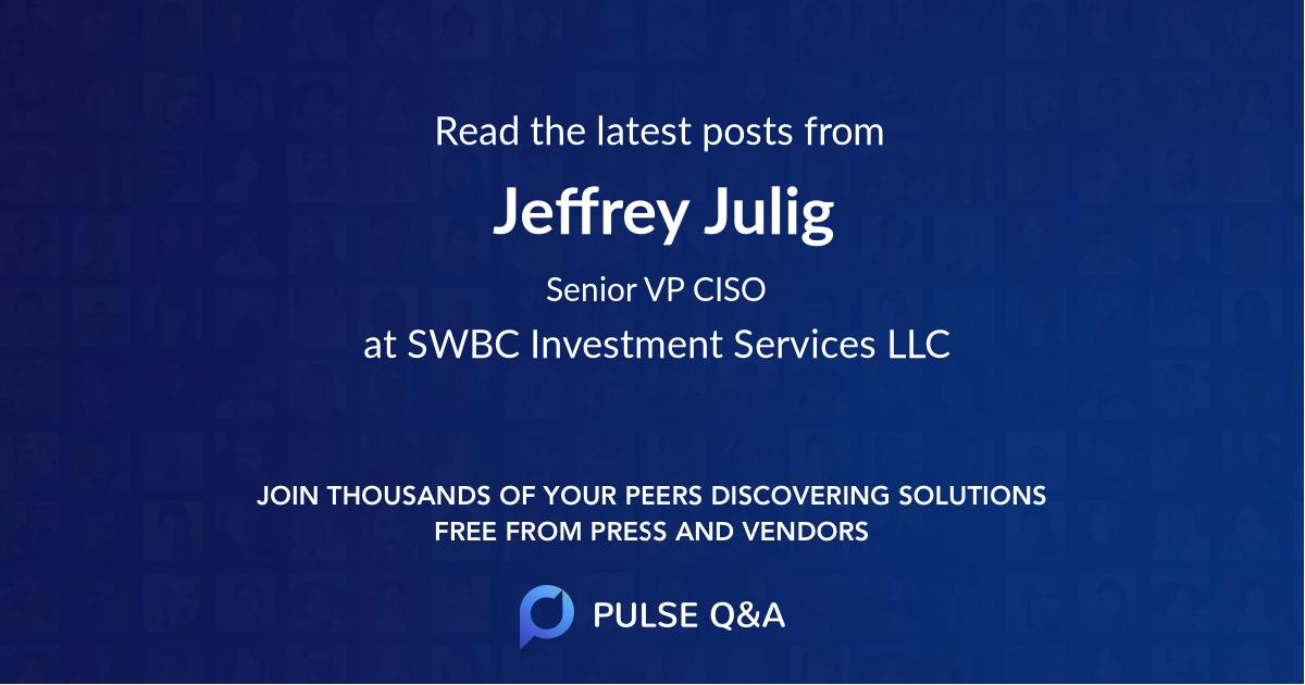 Jeffrey Julig