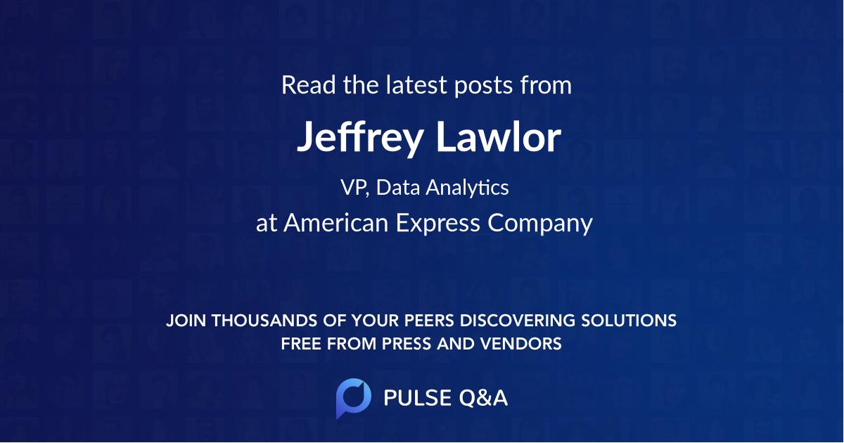 Jeffrey Lawlor