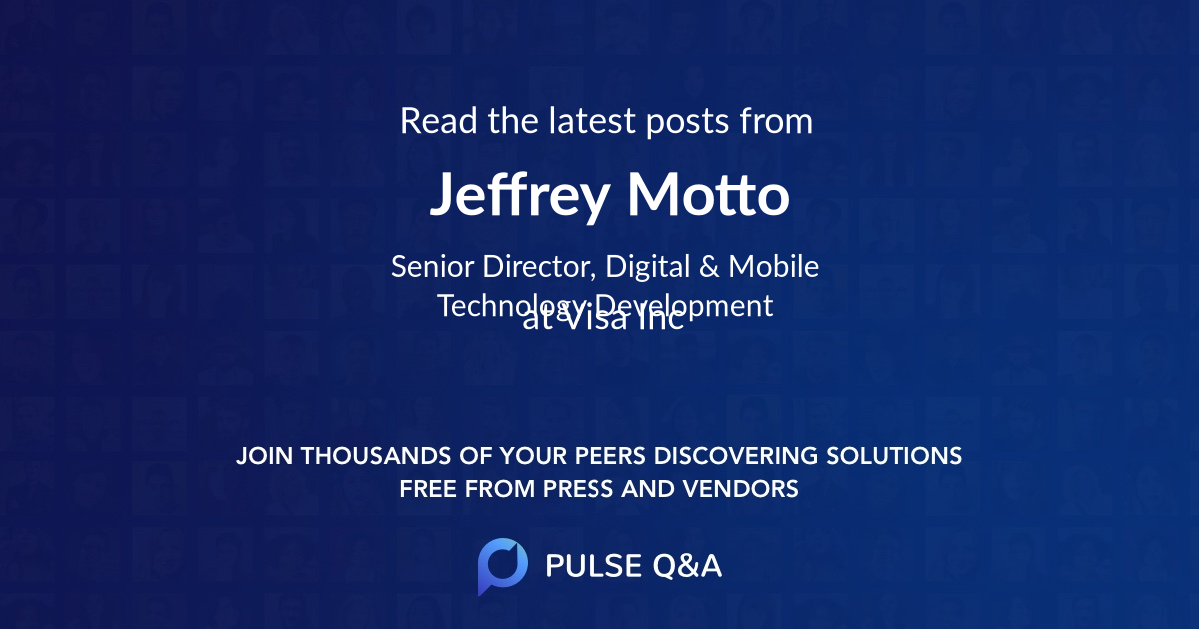 Jeffrey Motto