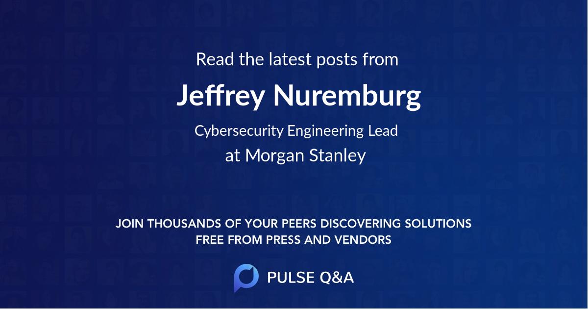 Jeffrey Nuremburg