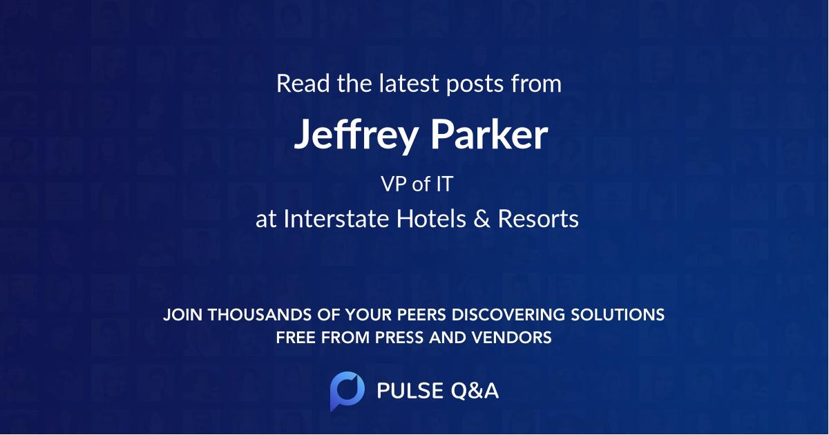 Jeffrey Parker