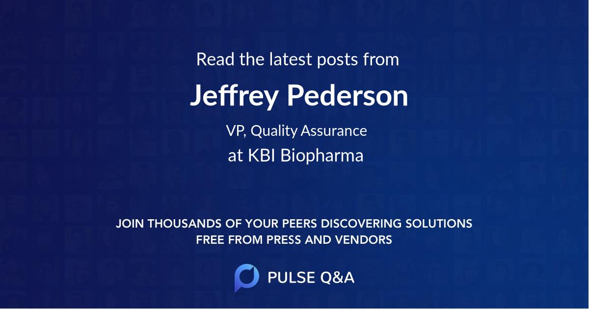 Jeffrey Pederson