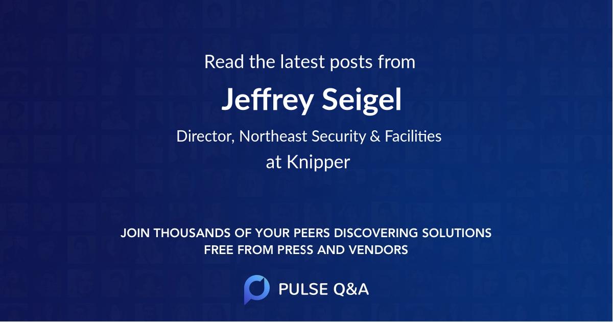 Jeffrey Seigel