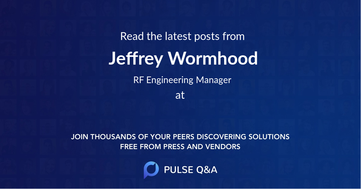 Jeffrey Wormhood