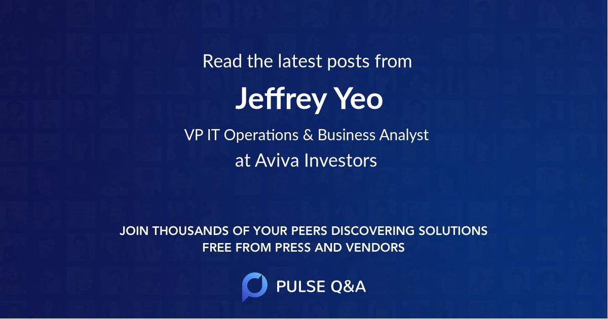 Jeffrey Yeo