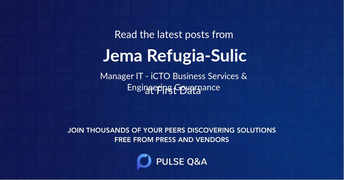 Jema Refugia-Sulic