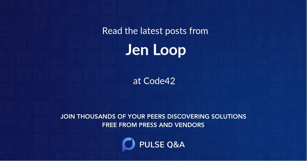 Jen Loop