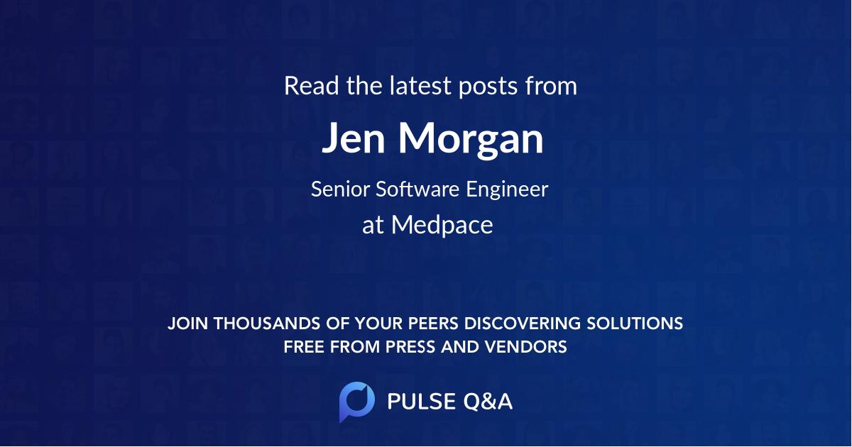 Jen Morgan