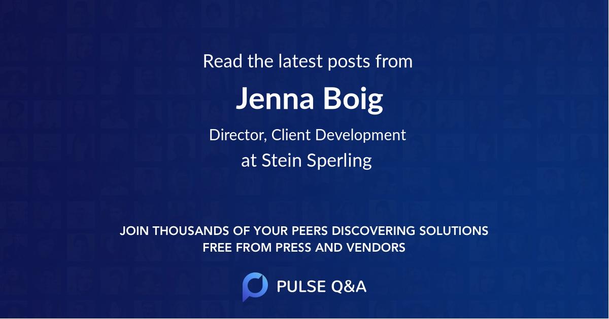 Jenna Boig