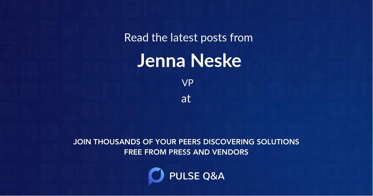 Jenna Neske