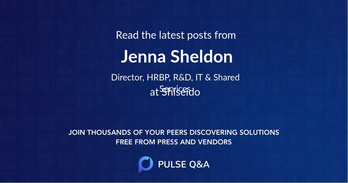 Jenna Sheldon