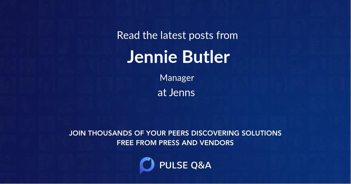 Jennie Butler