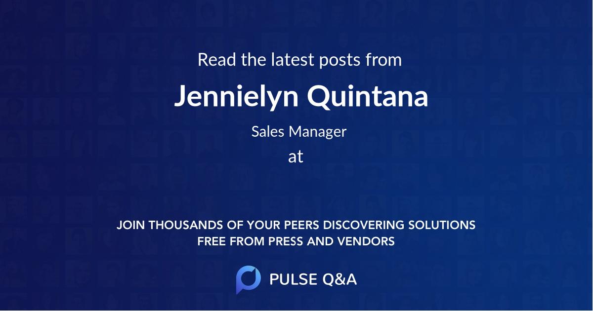 Jennielyn Quintana