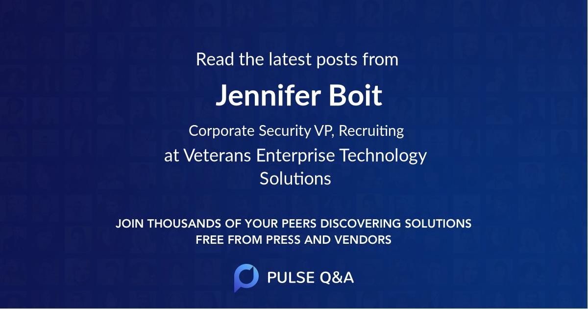 Jennifer Boit