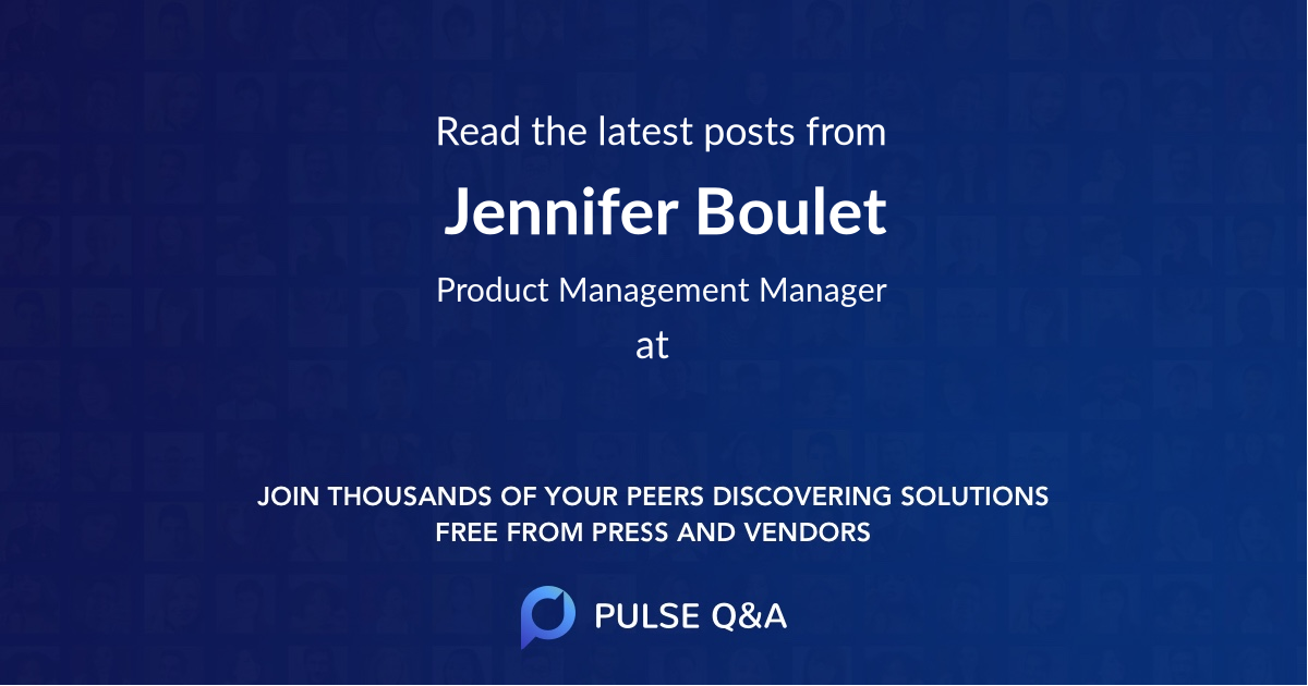 Jennifer Boulet