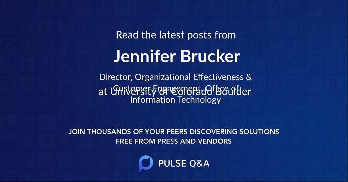 Jennifer Brucker